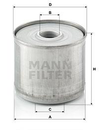 Polttoainesuodatin MANN-FILTER P 917/1 x