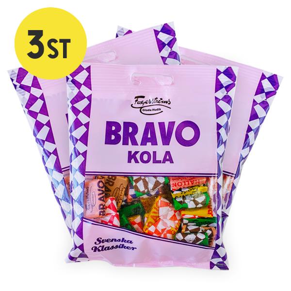 3st - Bravo Kola Påse 90G