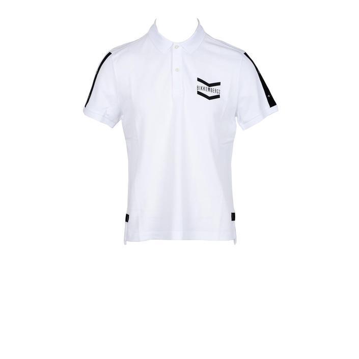 Bikkembergs Men's Polo Shirt White 178365 - white M