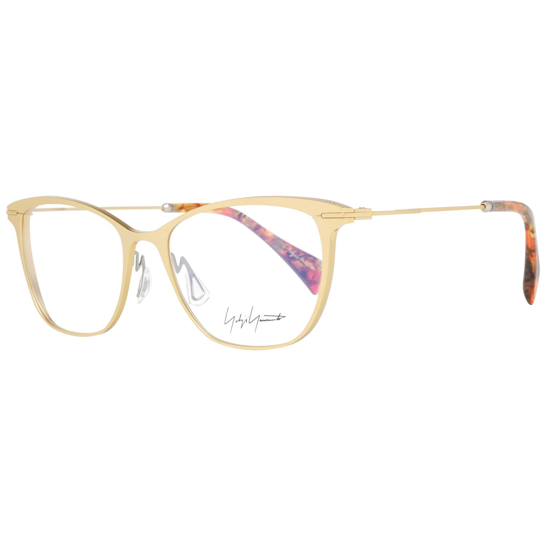 Yohji Yamamoto Women's Optical Frames Eyewear Gold YY3030 53464