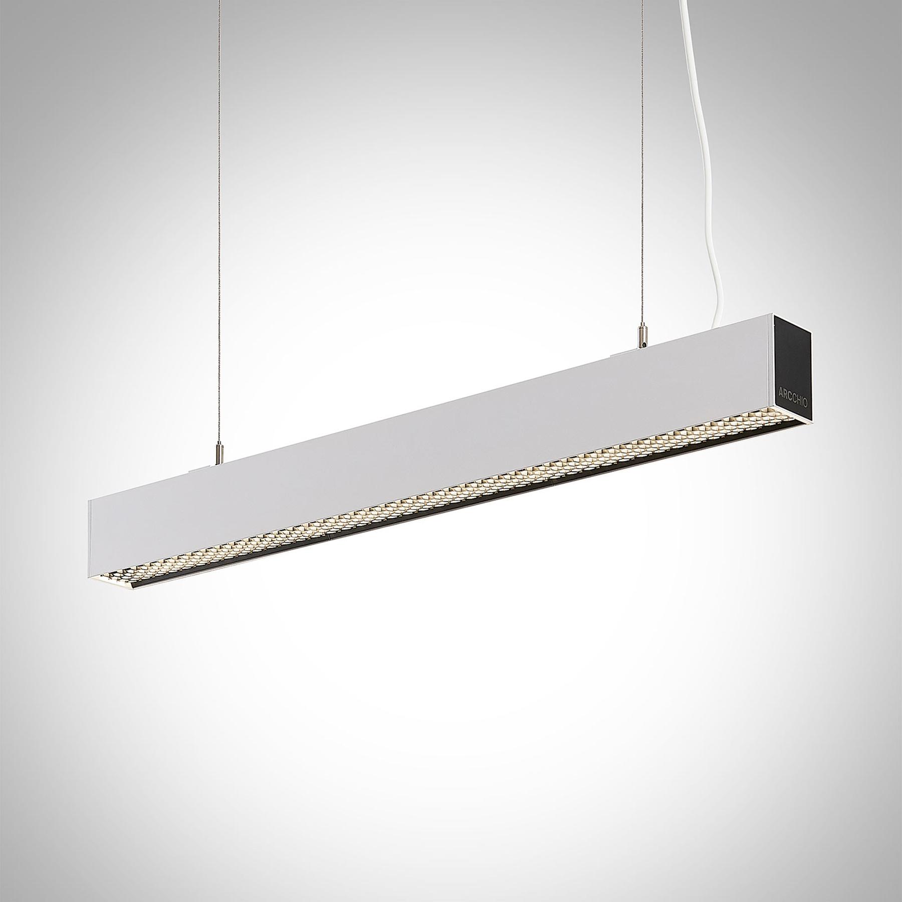 Arcchio Thores LED-riippuvalaisin 85cm valkoinen