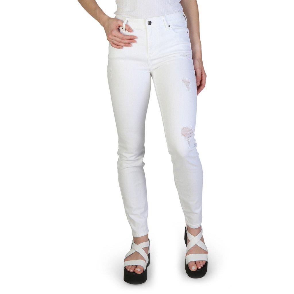 Armani Exchange Women's Jeans White 312065 - white 25 UK