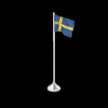 Bordflagg svensk H35 sølvfarget