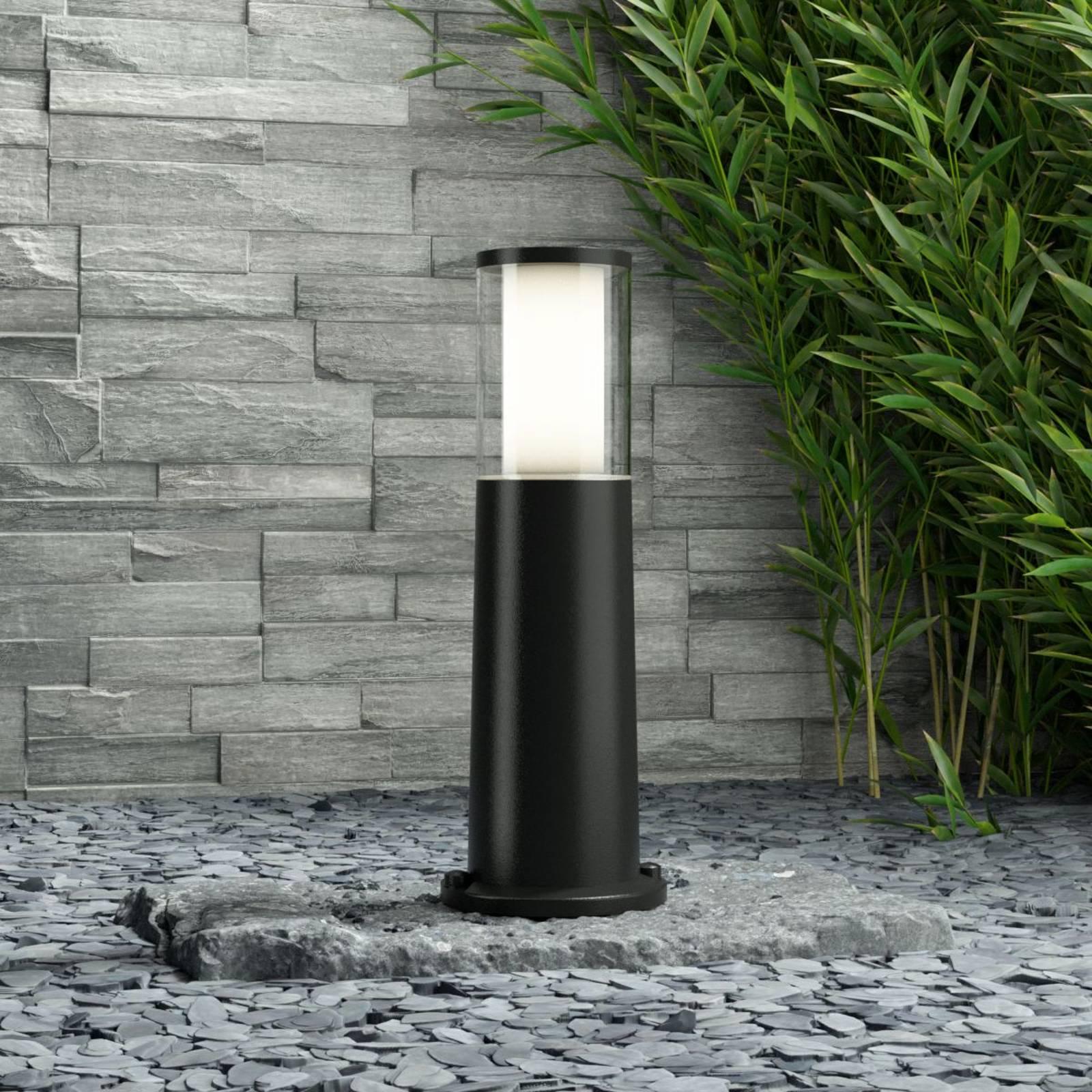 Carlo-LED-pollarivaliaisn, musta 3,5W CCT 40 cm