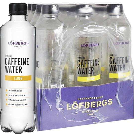 Koffeinvatten Citron 12-pack - 60% rabatt