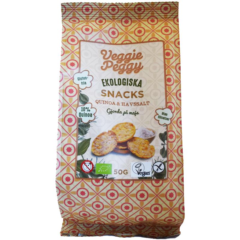 Eko Majssnacks Quinoa & Havssalt 50g - 40% rabatt
