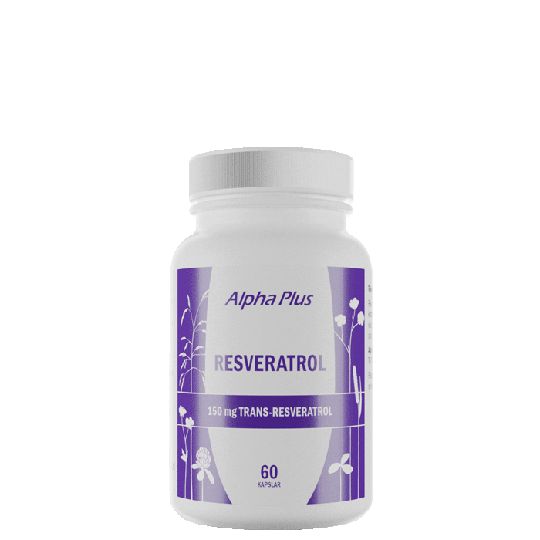 Resveratrol, 60 kapslar