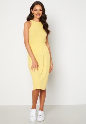 Happy Holly Charlie rib a-line skirt Yellow 52/54