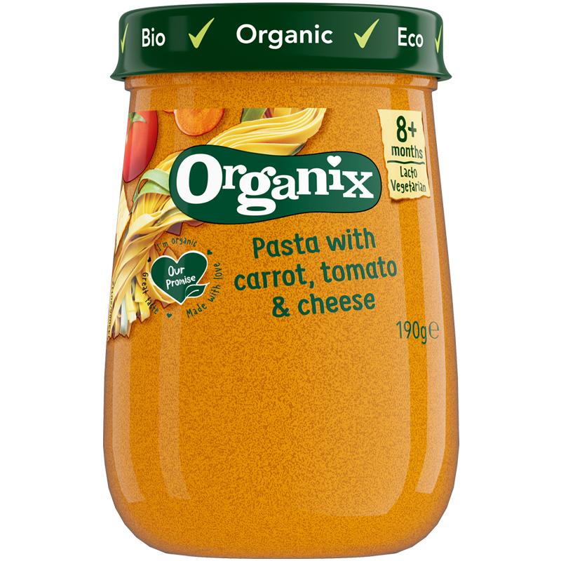 Luomu Porkkana, Tomaatti ja Juusto Pasta - 18% alennus