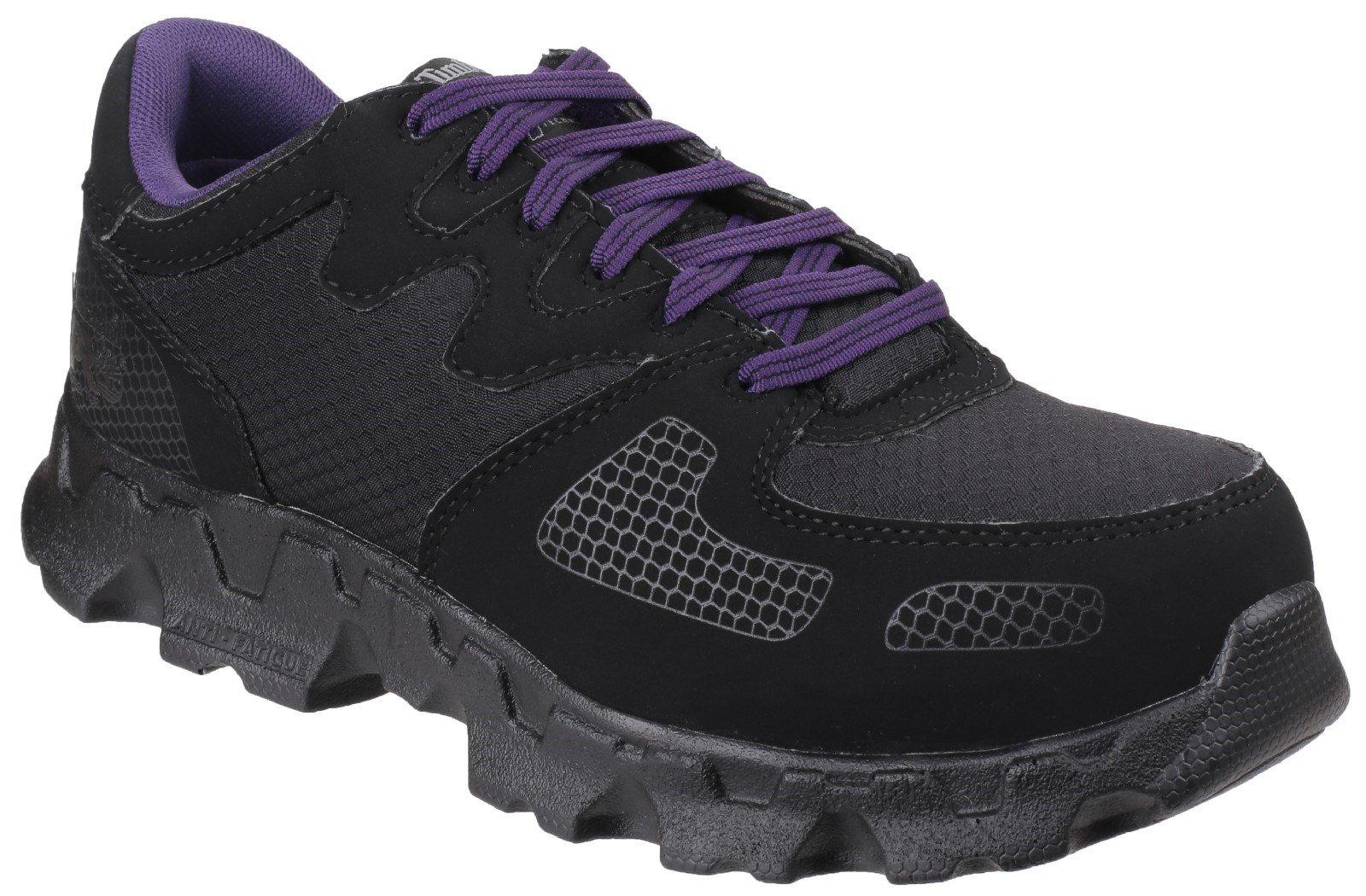 Timberland Pro Men's Powertrain Low Lace-up Trainer Black 24728 - Black 3