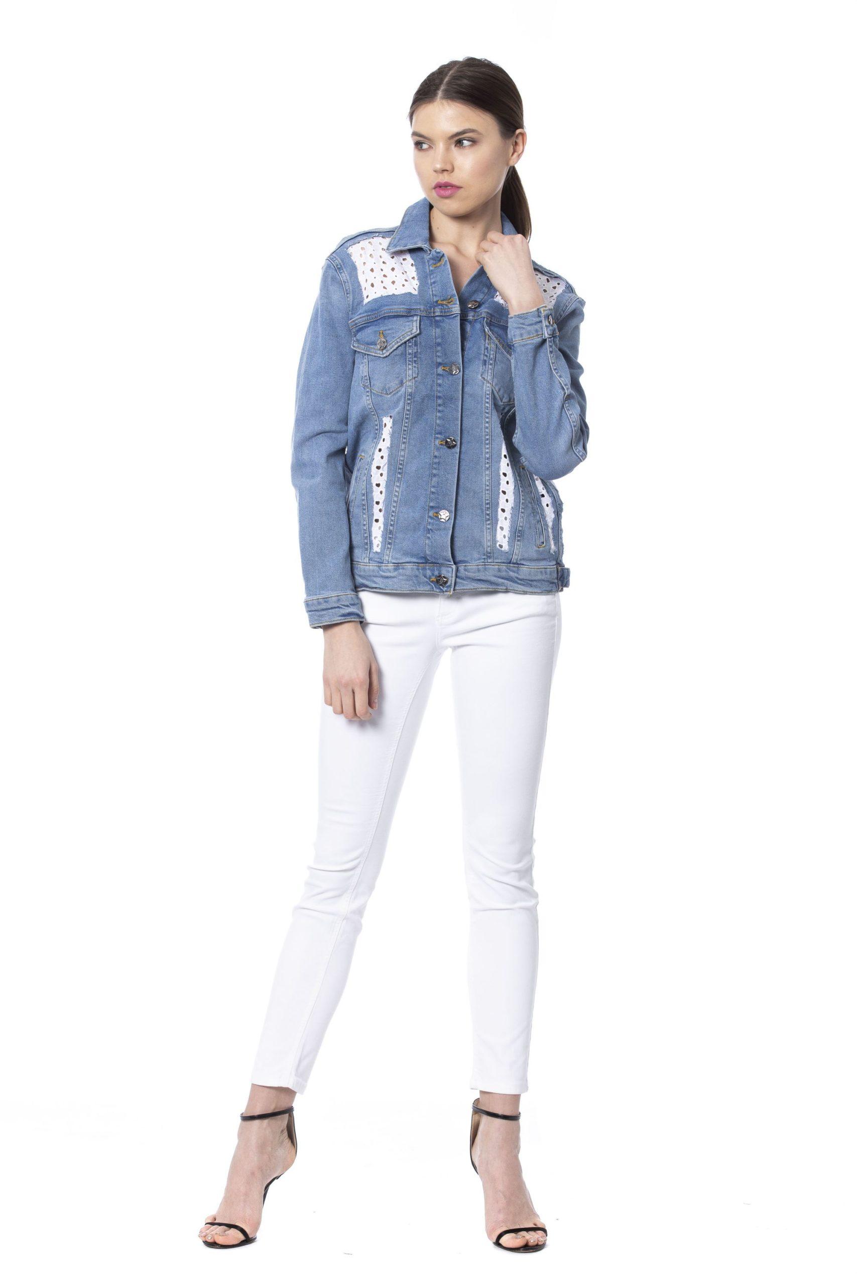 Silvian Heach Women's Jackets Blue SI993952 - XXS