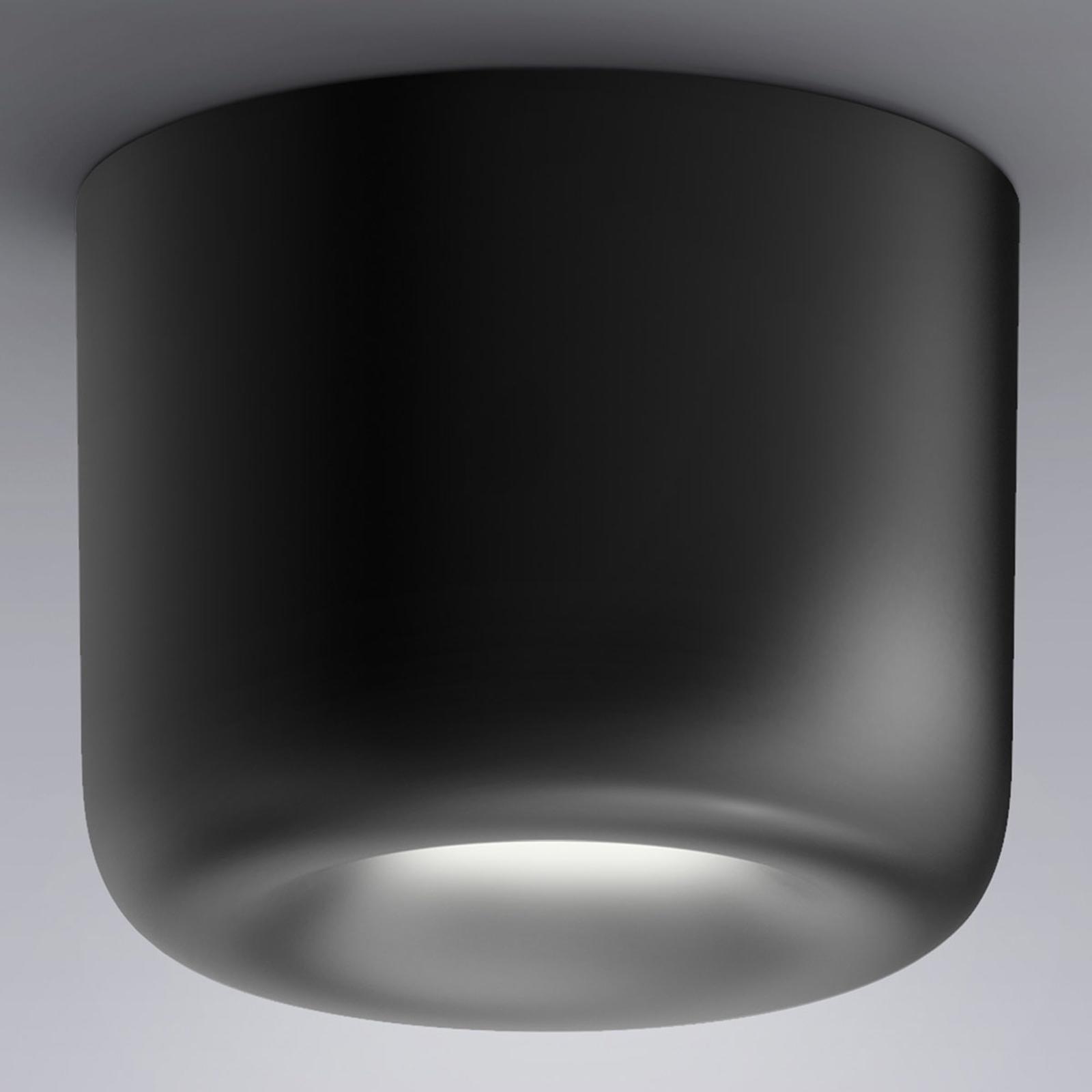 serien.lighting Cavity Ceiling L, musta