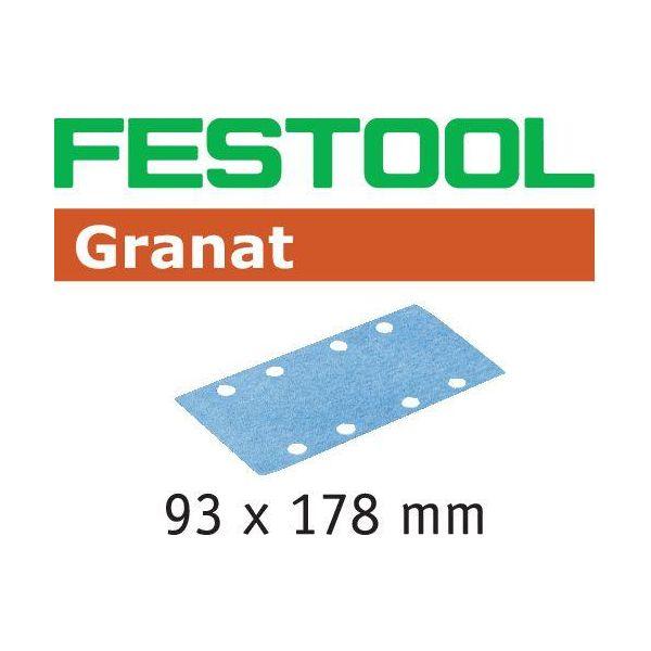 Festool STF GR Hiomapaperi 93x178mm 100 kpl. P180