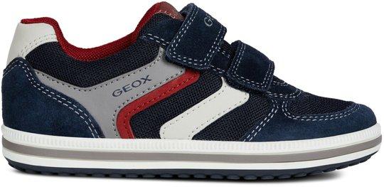 Geox Vita Sneaker, Navy/Red 31