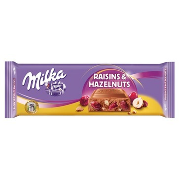 Milka Kaka Raisins Hazelnuts 270g