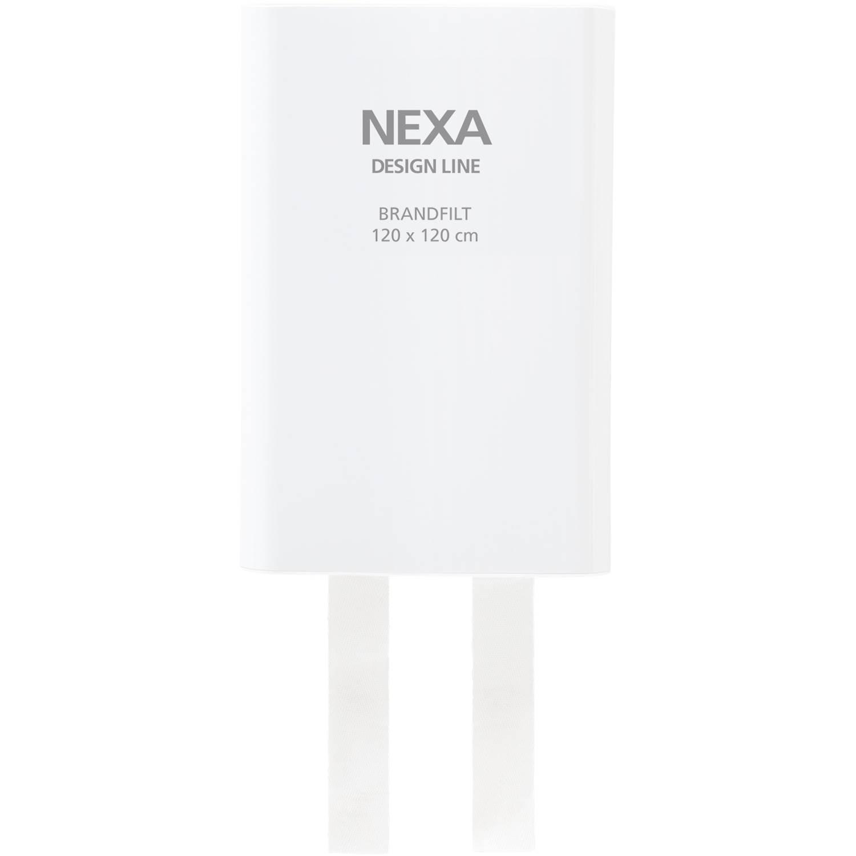 Nexa Brandfilt 120x120 cm Vit