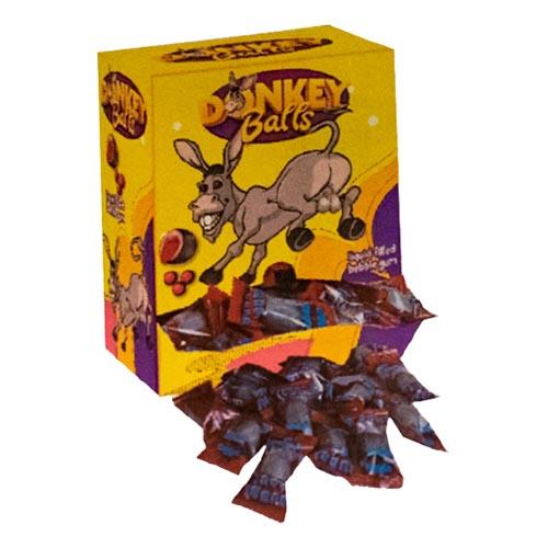 Donkey Balls Tuggummi Storpack - 200-pack