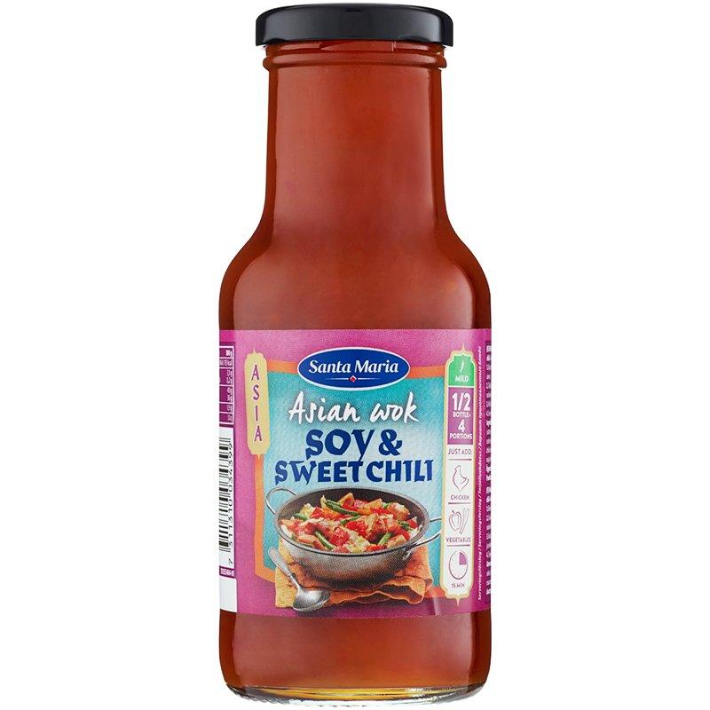 Wokkikastike Soija & Sweet Chili - 27% alennus