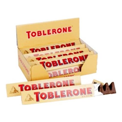 Toblerone Mjölkchoklad - 24-pack
