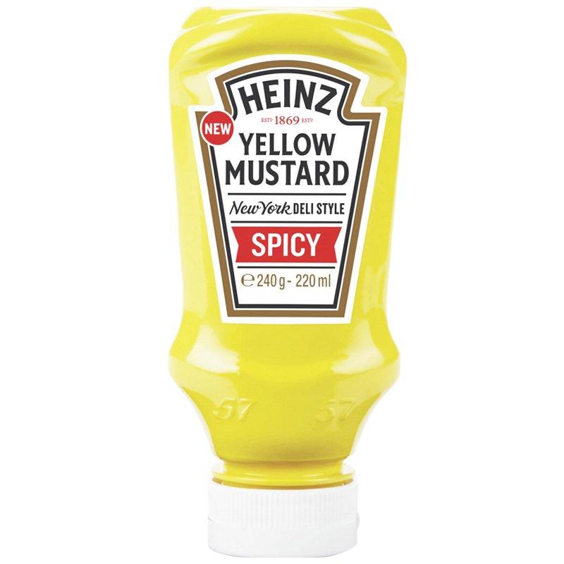 "Sinappi ""Yellow Mustard Spicy"" 240g - 47% alennus"