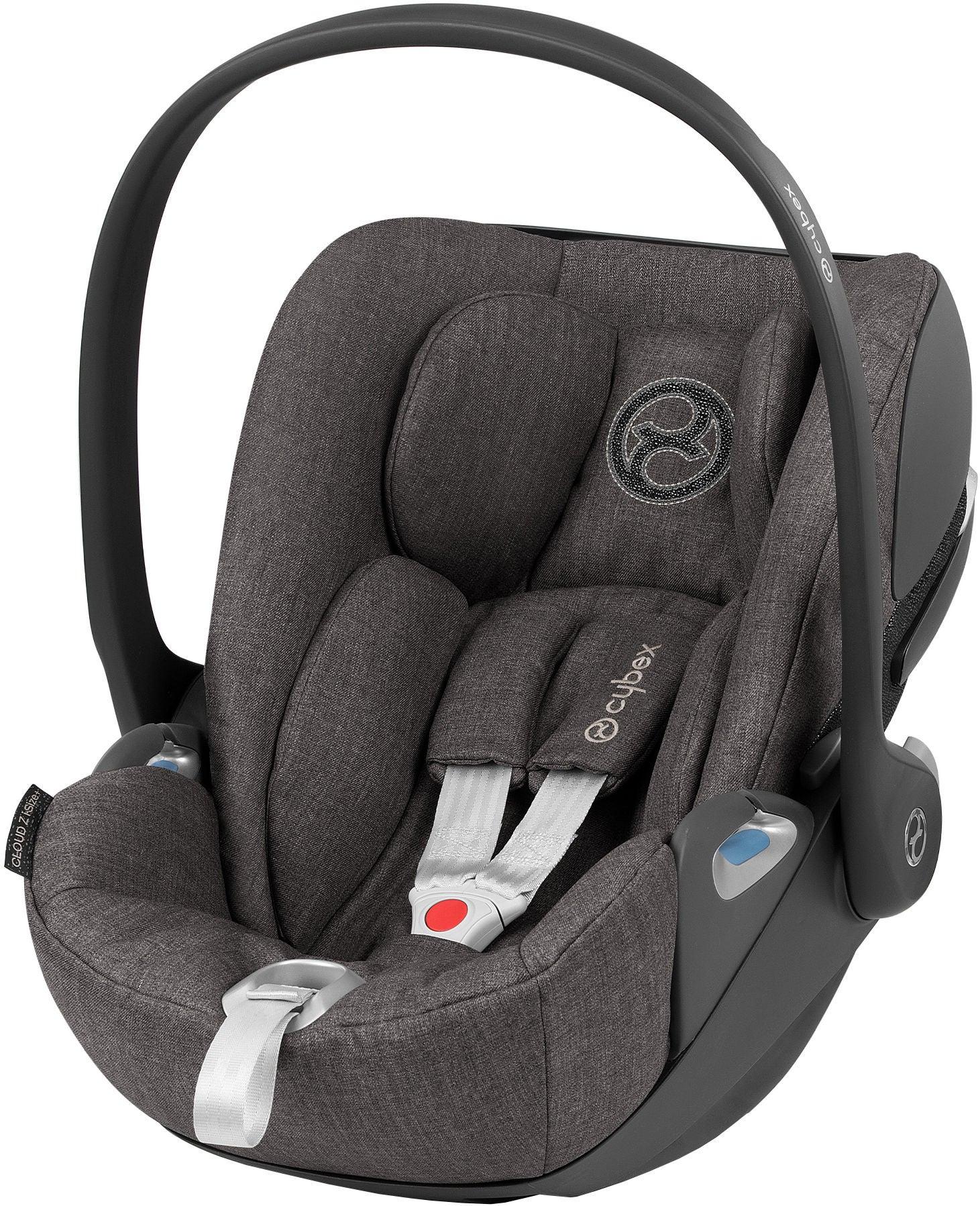 Cybex Cloud Z i-Size Plus Babyskydd, Soho Grey