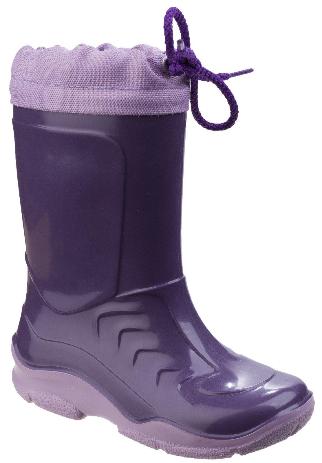 Cotswold Kid Splash Wellington Boot Various Colours 20815 - Lilac 1