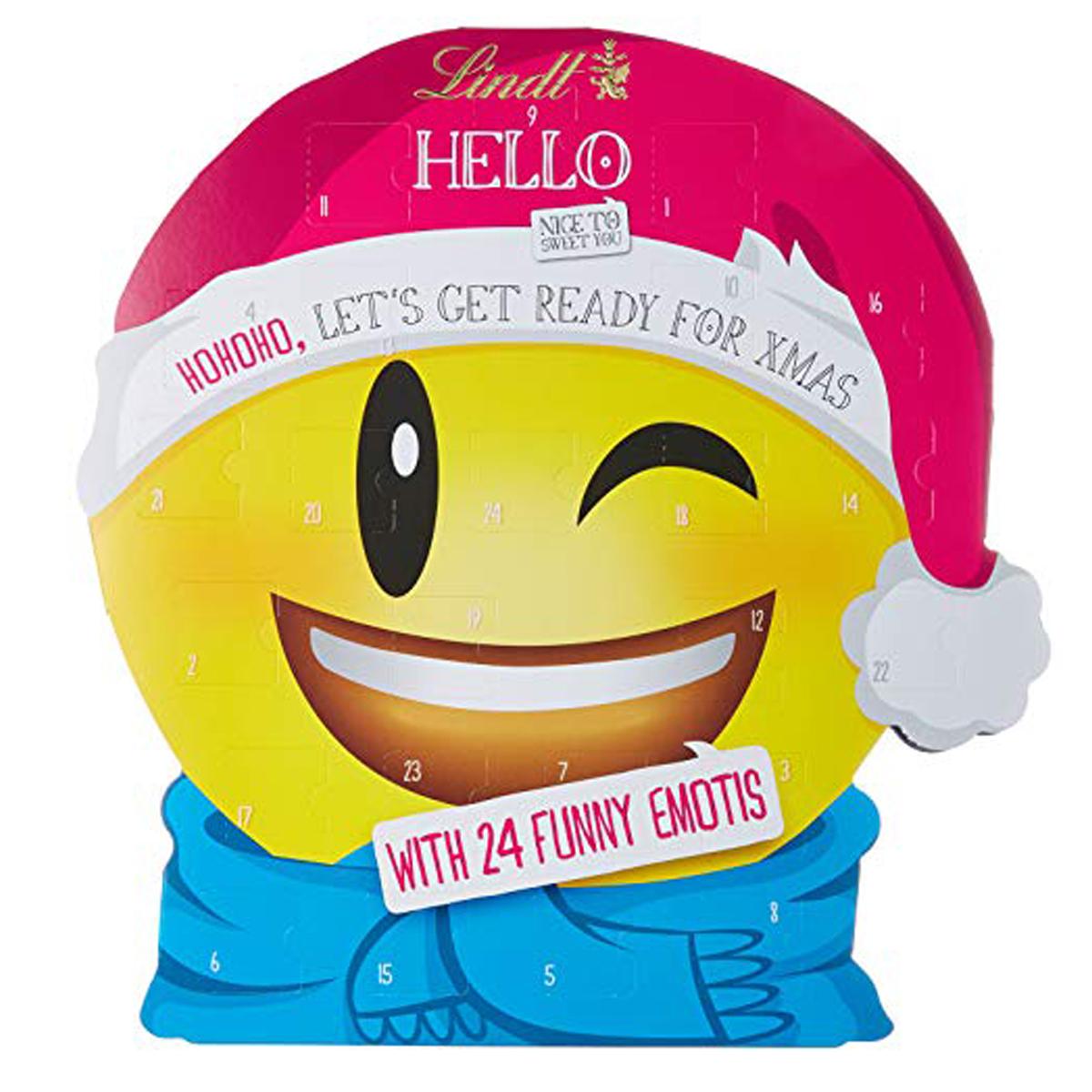 Lindt Julkalender Emojis - 82% rabatt