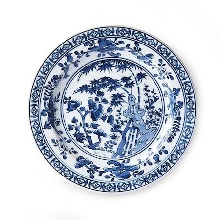 Ceramic Handmålad Tallrik