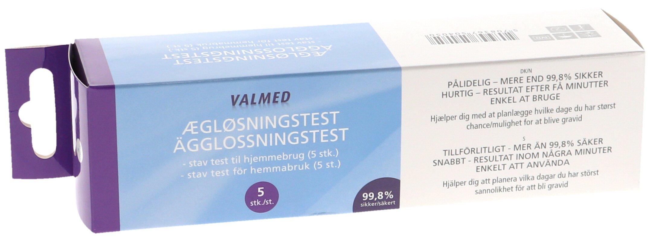 Ovulaatiotesti 5kpl - 55% alennus