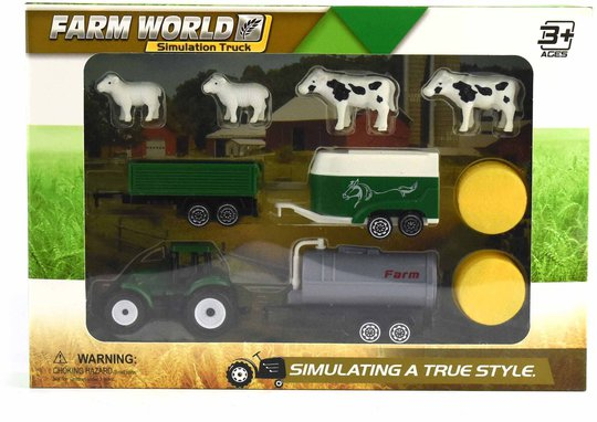 Robetoy Traktor Sett 10 Deler