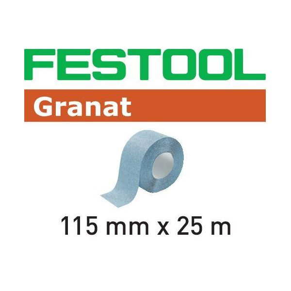 Festool GR Hiomapaperirulla 115x25m P80
