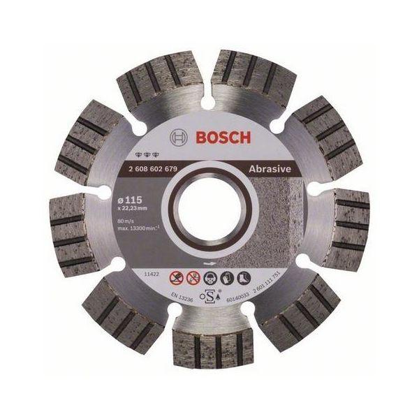 Bosch Best for Abrasive Diamantkappskive Ø115 mm