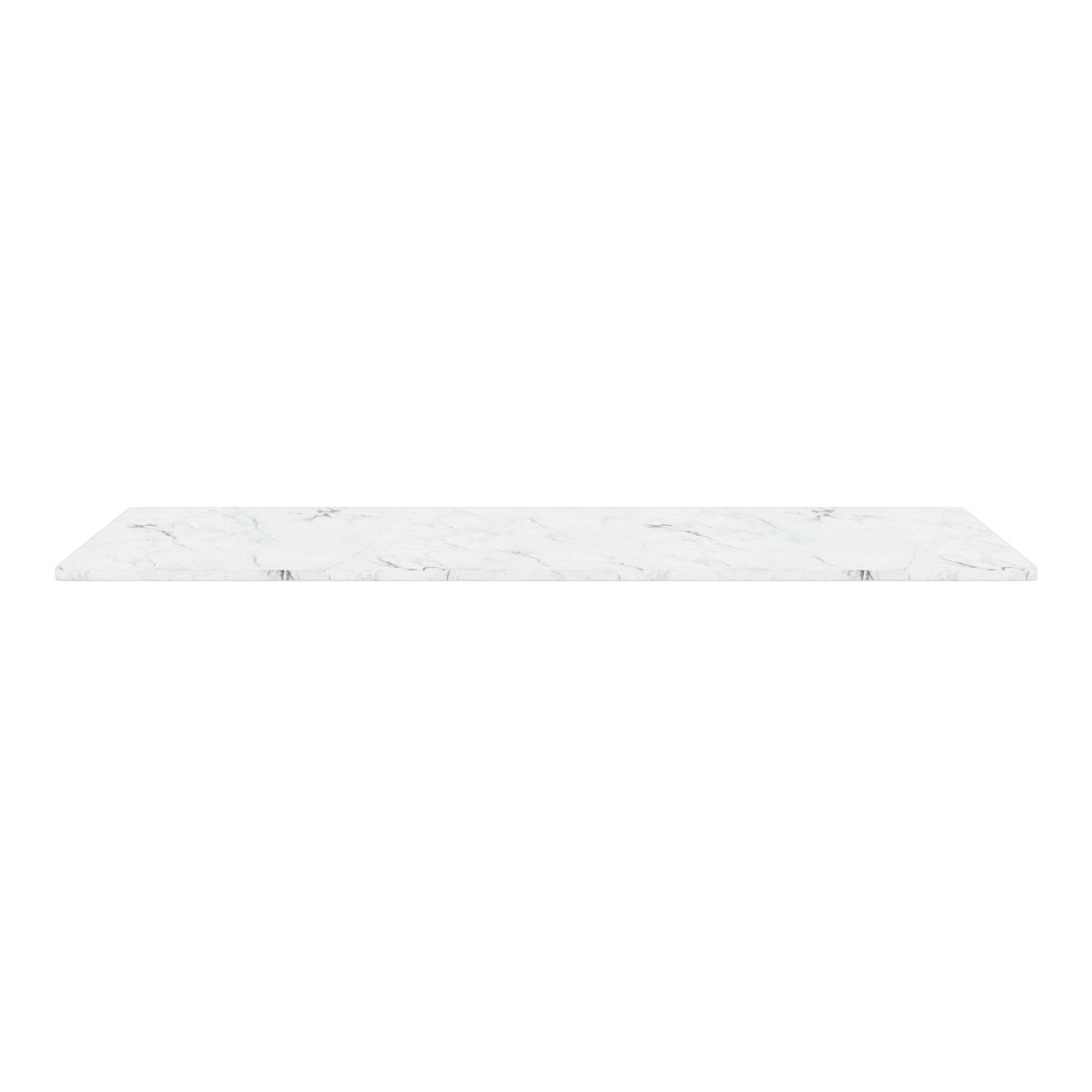 Montana Toppskiva Wire 70,1x34,8cm White Marmor