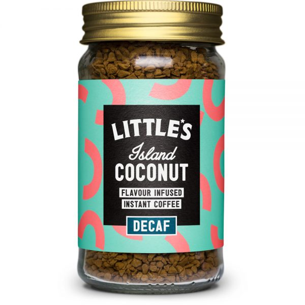 Littles Decaf Island Coconut Instant Coffee 50g