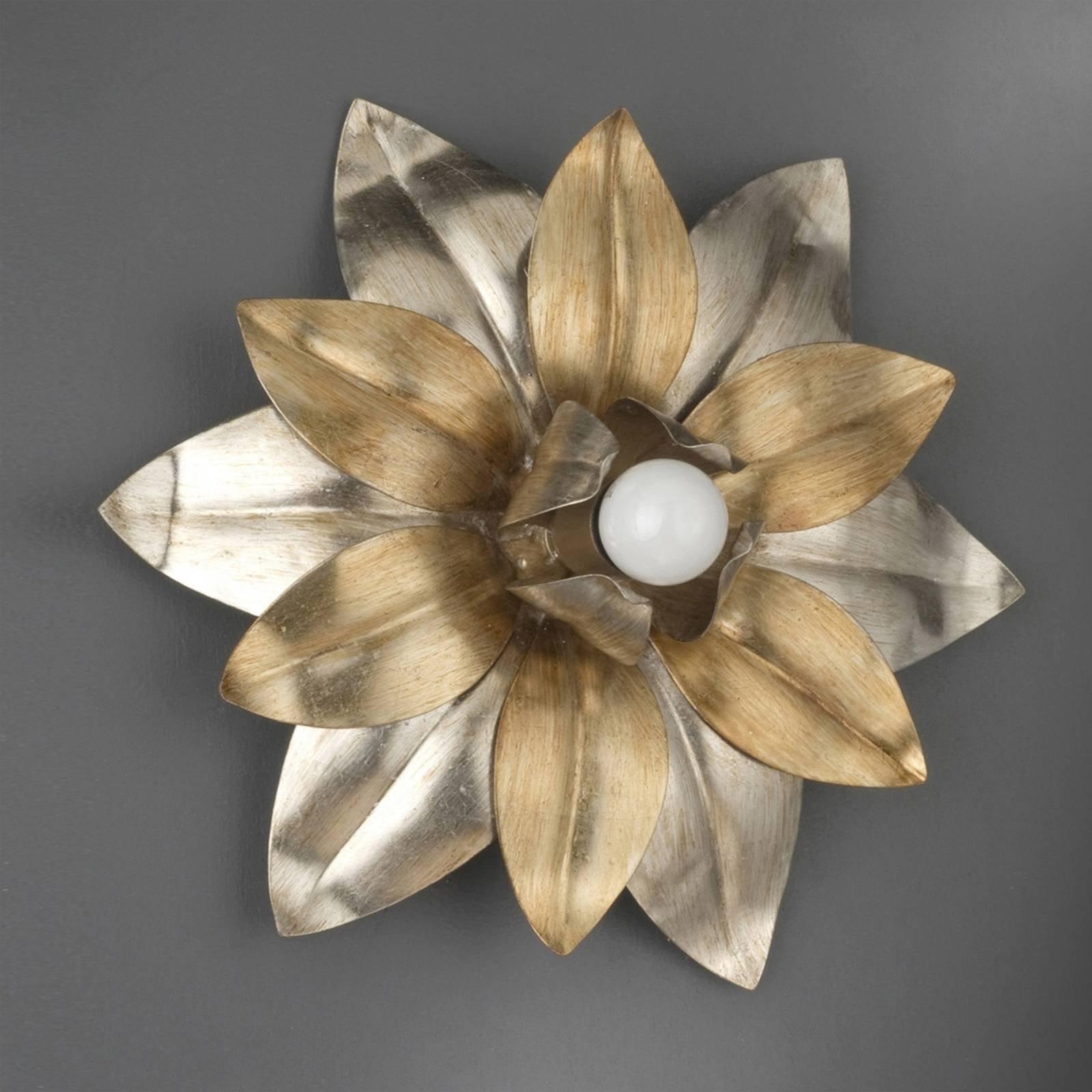 Vegglampe Marsala i blomsterform