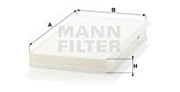 Raitisilmasuodatin MANN-FILTER CU 3139