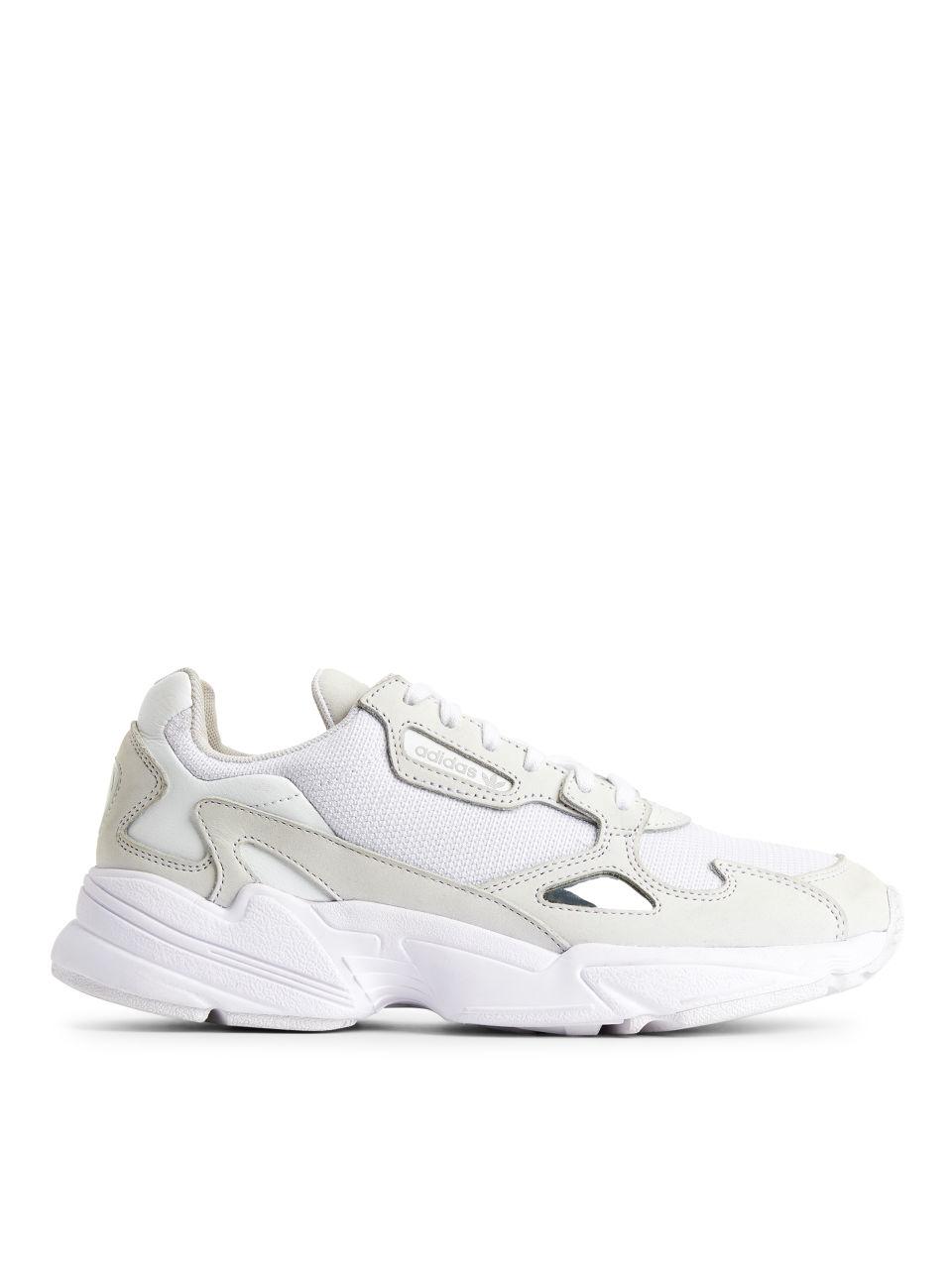 adidas Falcon Trainers - White