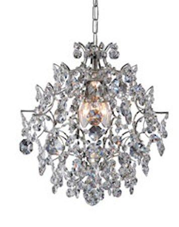 Rosendal Taklampe 3 Lys Krom