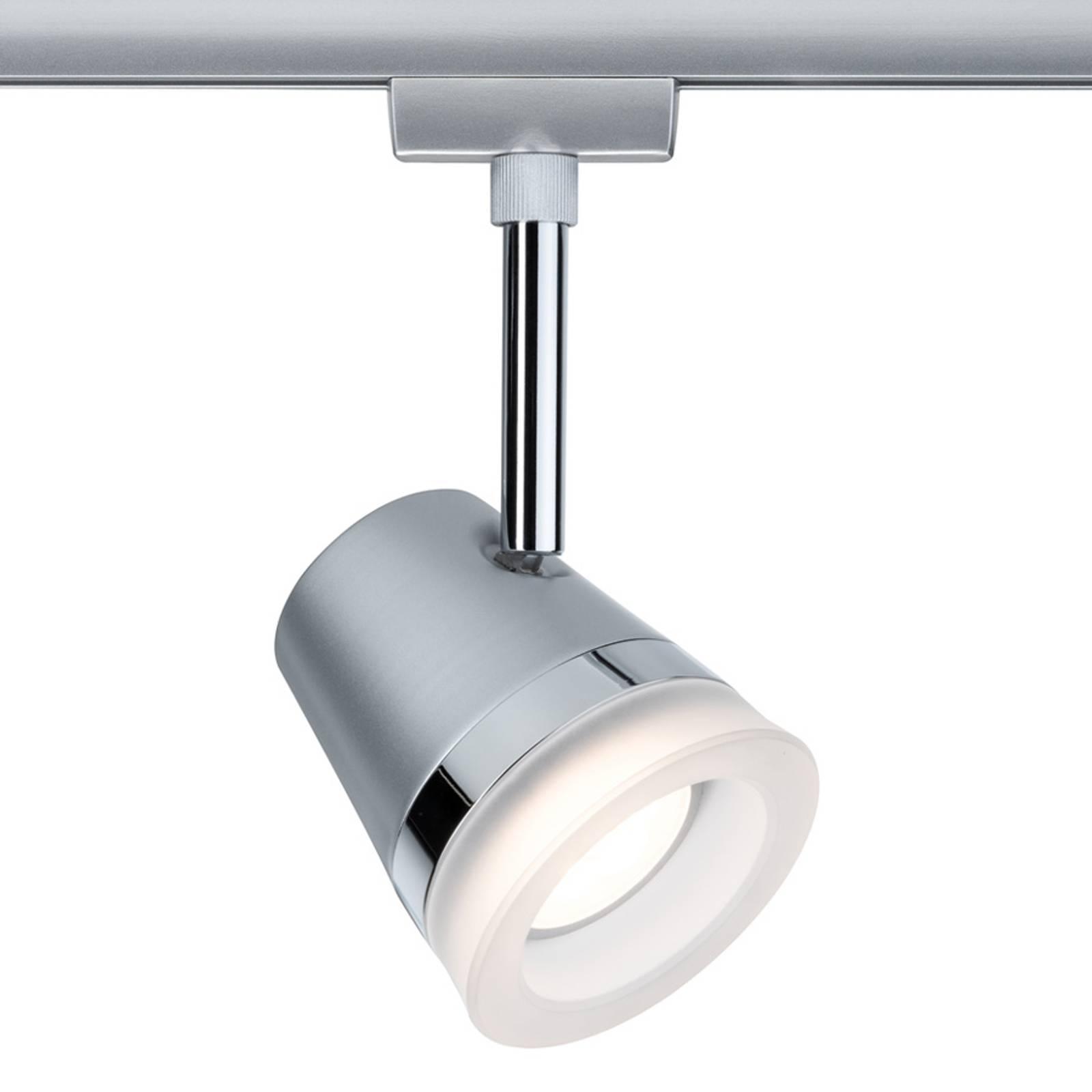 Paulmann URail Cone -LED-spotti, mattakromi