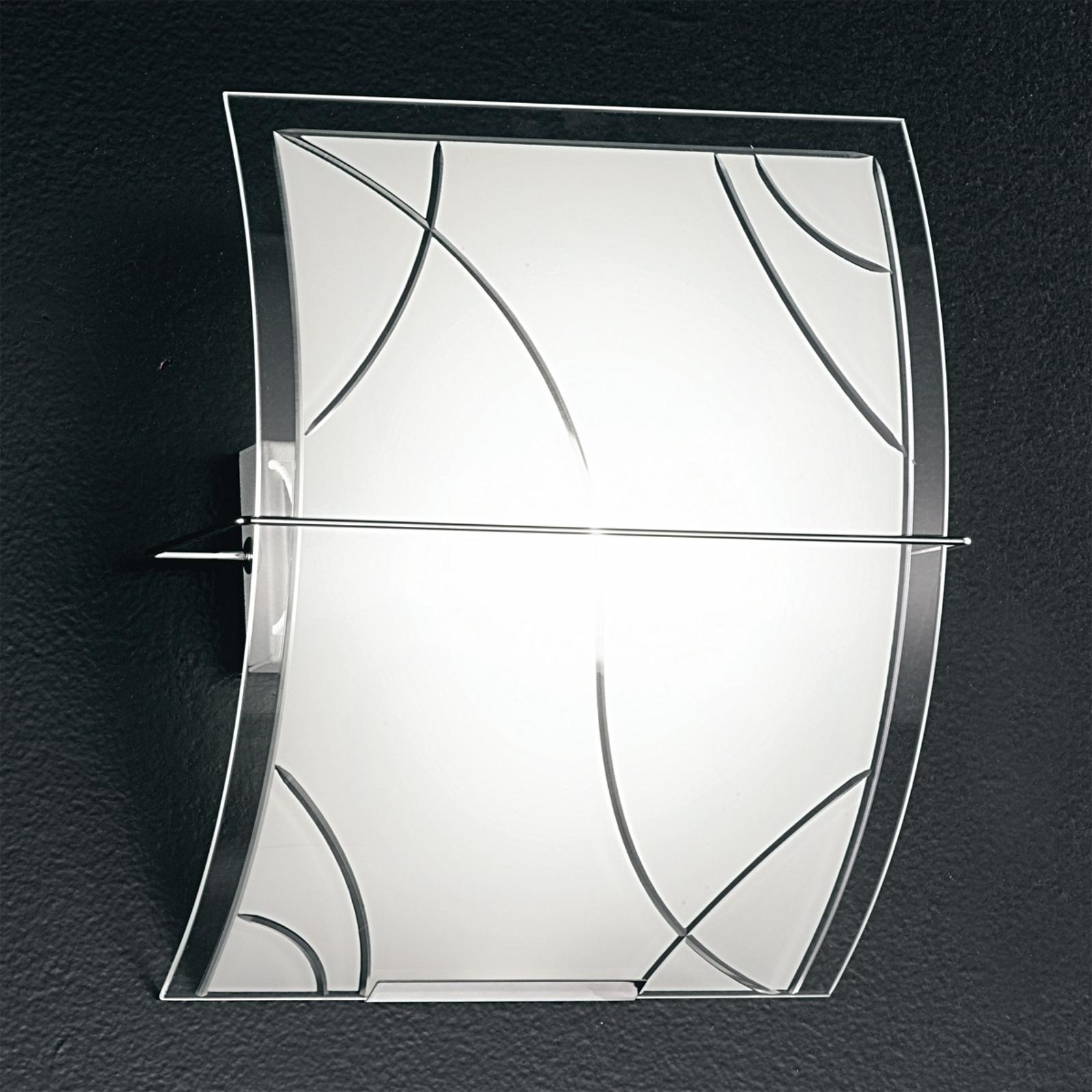 Koristeellinen seinävalaisin Smart 30 cm