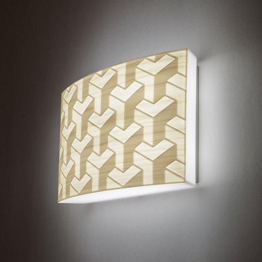 LZF Hide & Seek LED-vegglampe 0-10V dim elfenbein