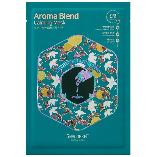 Aroma Blend Calming Mask, 30 ml Shangpree K-Beauty
