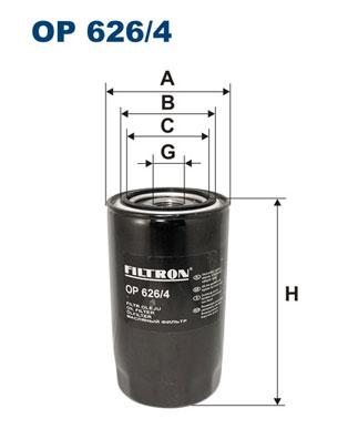 Öljynsuodatin FILTRON OP 626/4