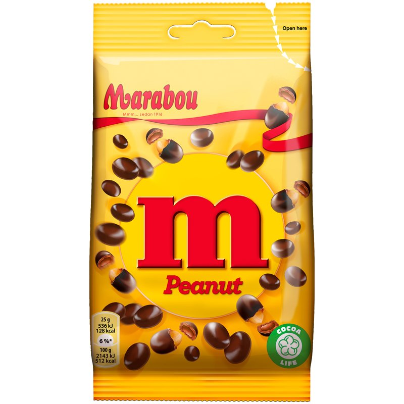 M Peanut - 22% rabatt