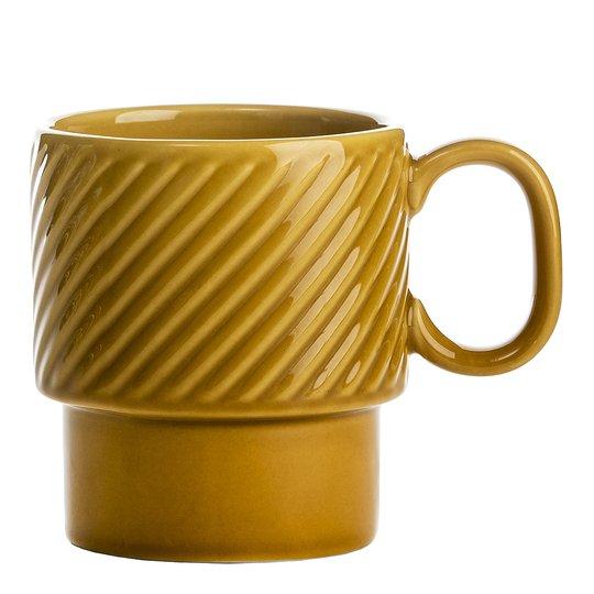 Sagaform - Coffee & More Kaffemugg 25 cl Gul
