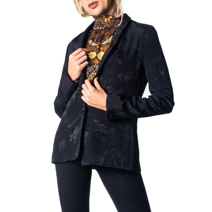 Desigual Women's Blazer Black 177333 - black M