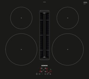 Siemens Eh611be15e Iq300 Spishäll Med Inbyggd Köksfläkt - Svart