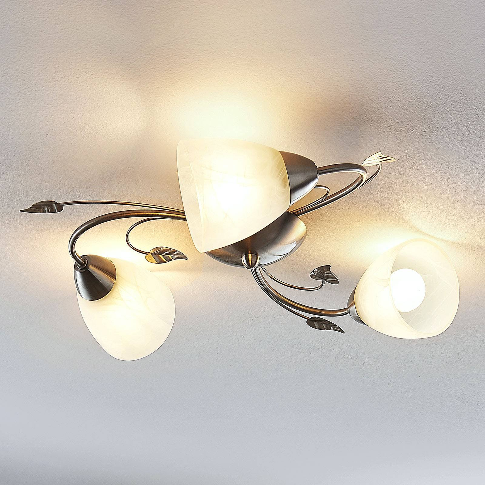 Lindby Yannie LED-taklampe, tre lyskilder