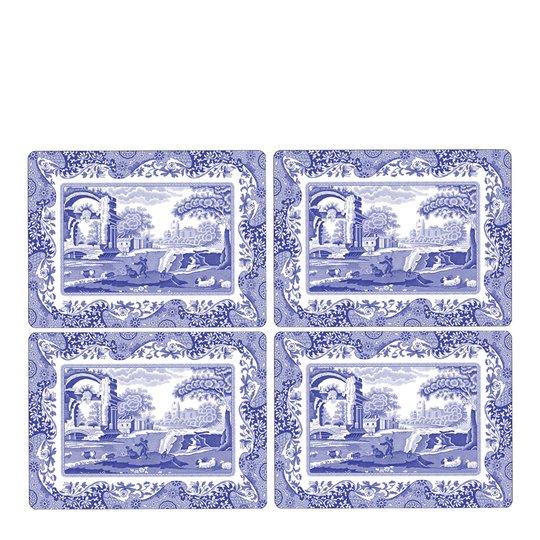 Spode - Blue Italian Bordsunderlägg 4-pack