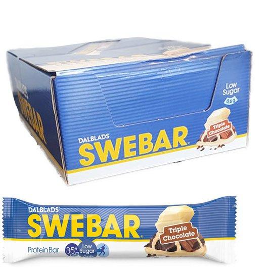 Proteinbars Triple Chocolate 18-pack - 40% rabatt